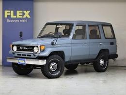 トヨタ ランドクルーザー70 4.2 ZX ディーゼル 4WD クラシックスタイル 4ナンバー登録可