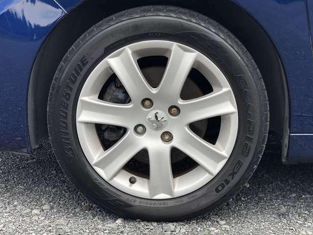 【タイヤ情報】メーカー:Bridgestone  商品名:ECOPIA EX10  サイズ:195/55R16