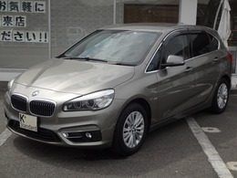BMW 2シリーズアクティブツアラー 218d xドライブ ラグジュアリー 4WD 衝突軽減B ヒータ付電動革シート Bカメ ETC