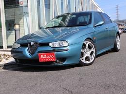 アルファ ロメオ アルファ156 2.5 V6 24V 6速マニュアル/右H/運転席レカロシート
