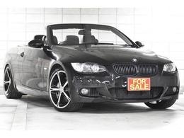 BMW 3シリーズカブリオレ 335i Mスポーツパッケージ 中期モデル7速DCT 後期テール バックカメラ