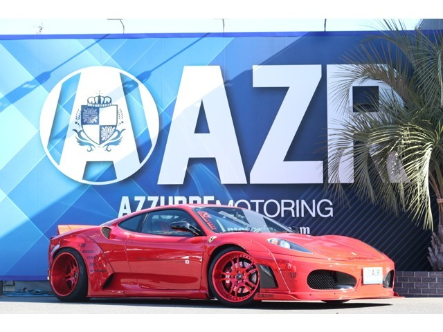 2006y フェラーリ F430 LBワークス SKYFORGEDホイール Fiエキゾースト可変付マフラー エアーレックスエアサス 純正カーカバー HDDナビ 入庫しました。
