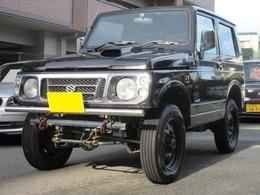 スズキ ジムニー 660 ワイルドウインド 4WD リフトUP 全塗装済 社外マフラー