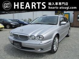 ジャガー Xタイプエステート 2.0 V6 SE ベージュ本革シート 電動シート 純正ナビ