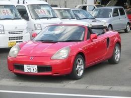 トヨタ MR-S 1.8 Sエディション シーケンシャル キーレス CD ETC 15インチアルミ