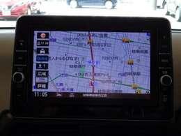 通信ユニット内蔵の日産純正メモリーナビ(MM319D-W)装備、スマホアプリと連動、音声対話検索などに対応した高機能ナビ。多彩なメディア再生に加え、初回車検まで3回地図更新が無料です。