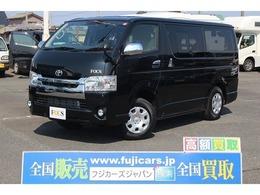 トヨタ ハイエースバン キャンピング FOCS エスパシオes 展示新車 FFヒーター 新品ナビBカメラ