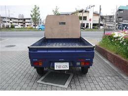 充分な荷台スペースがあります。