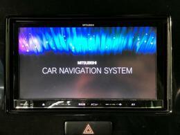 ナビゲーションもばっちりです!!快適なドライブの必需品!!エンターテイメントも多彩な多機能ナビですよ!!