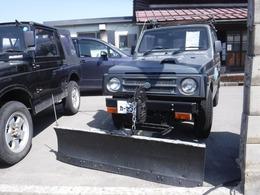 スズキ ジムニー 660 HC 4WD ルーフキャリア ターボ プラウ付き