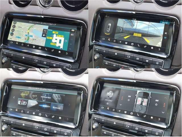 操作性重視のタッチパネル式モニター。リアカメラで駐車時も安心。