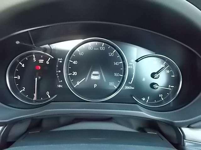 中央にスピードメーターを配置し視認しやすくなっています