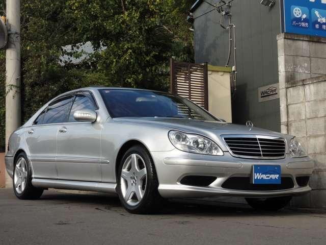 W220最終モデル100台限定車!とにかく奇麗な車両です。是非ご来店いただきお確かめ下さい。
