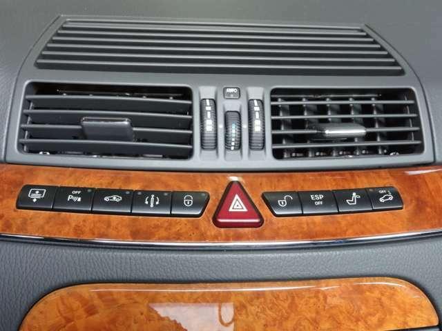運転にまつわるスイッチは機能的に配置されております。