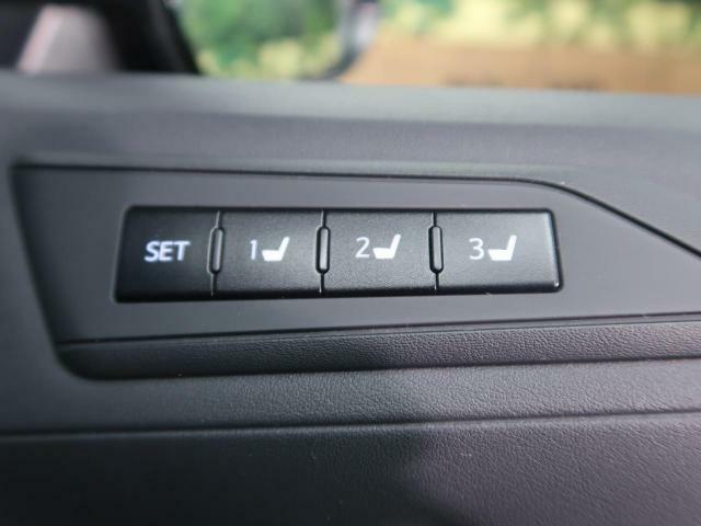 ●シートメモリー『シートの位置の記録が可能です。自分に合った配置でドライブが楽しめますよ♪』