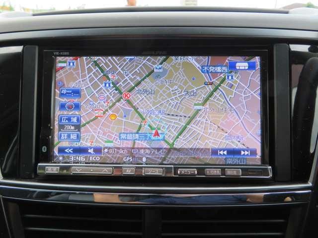 HDDナビ、フルセグTVを装備しております。Bカメラも装着済みで車庫入れが楽々です!!