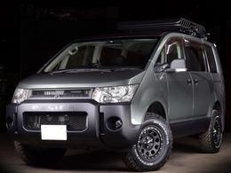 三菱 デリカD:5 2.4 G プレミアム 4WD 両側パワスラ HDDナビ 新品タイヤホイル