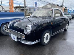 日産 フィガロ 1.0 ETC 黒全塗装 記録簿 取説