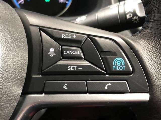 【プロパイロット】プロパイロットボタンを押すだけで後は前の車を感知するのを待つだけでとても簡単