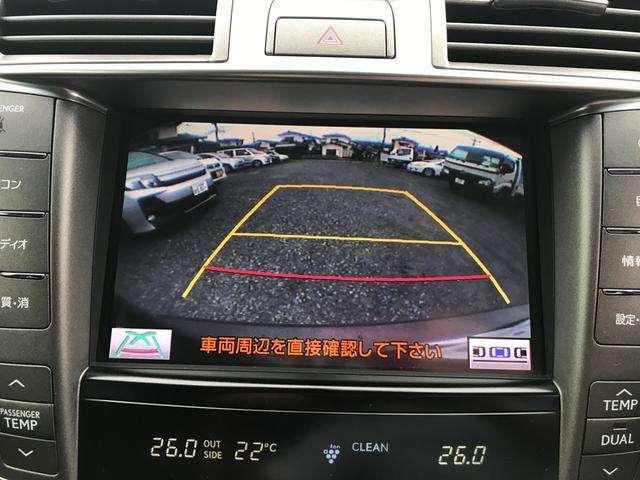 バックカメラ付き。駐車時も安心ですね。