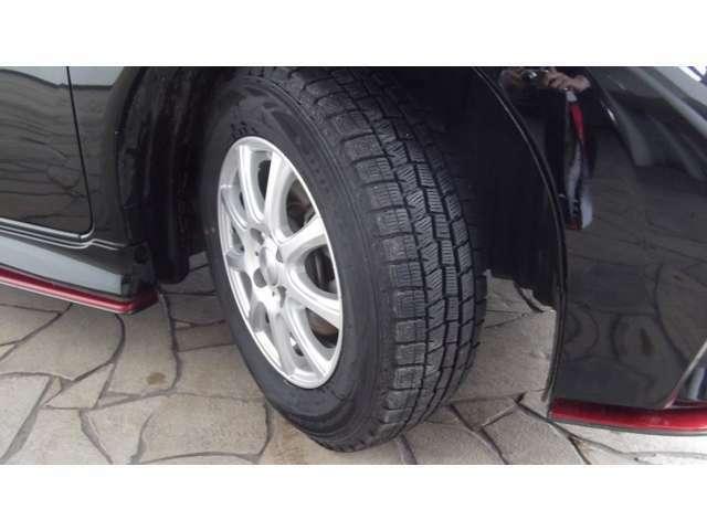タイヤの溝深さもあります。