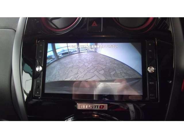 「バックカメラ」駐車が苦手な方にもオススメです!