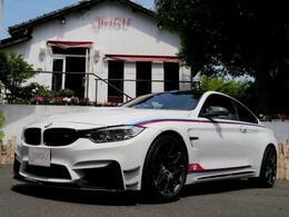BMW M4クーペ DTM チャンピオン エディション M DCT ドライブロジック バケット カーボンブレーキ Bカメラ D車