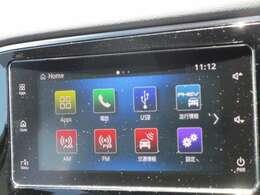 スマートフォン連携オーディオディスプレイです。Bluetooth接続で、対応するオーディオや携帯電話と接続することができます。