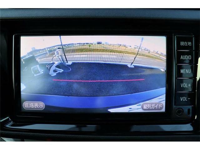 【バックカメラ】ナビ画面に後方の映像が表示されますので、駐車の際も安全です!