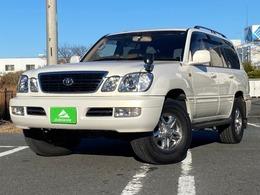 トヨタ ランドクルーザーシグナス 4.7 4WD ベージュレザー・サンルーフ・ワンオーナー
