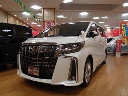 トヨタ アルファード 2.5 S タイプゴールド 4WD 届出済未使用車 特別仕様車 専用グリル