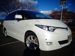 トヨタ エスティマ 2.4 アエラス サイドリフトアップシート装着車 両側パワスラ ETC HID
