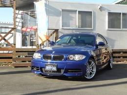 BMW 1シリーズクーペ 135i HDDナビ地デジ黒革シートパドルシフト