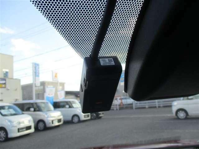 ドライブレコーダー。