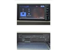 こちらのナビは地デジ(ワンセグ)対応、CD再生機能付き、Bluetoothオーディオ対応です!
