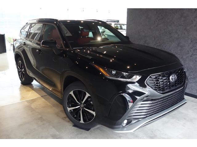 2021yモデル US TOYOTA ハイランダー XSE AWD ブラック/レッド