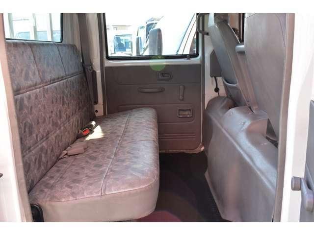 ■後席は道具なども積めますので使いやすいですね■