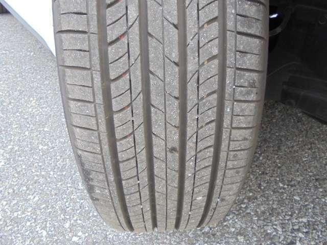 タイヤ溝も十分ですので安心してご利用いただけます。