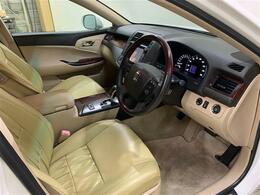 柔らかいシートで快適に運転することができます!