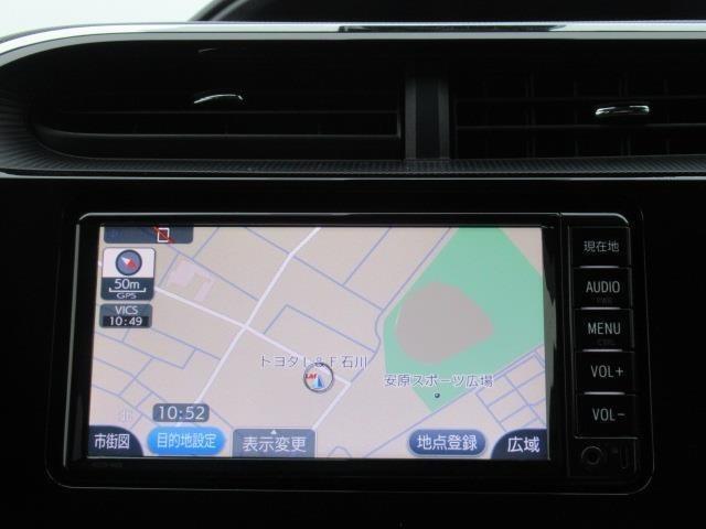 ワンセグTV、CD再生機能付きのトヨタ純正SDナビです☆Bluetoothの接続もできます♪