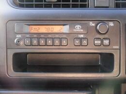 純正ラジオ搭載♪AUX端子付き♪