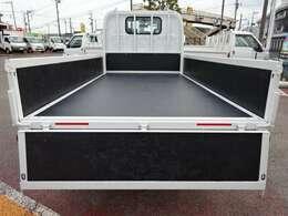 新品木製床! TKG-LKR85A 走行少なし! 車体寸法 L:468 W:169 H:197 荷台寸法 L:312 W:161 車検R3年10月まで