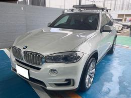 BMW X5 xドライブ 35d xライン 4WD 黒革シート・ミラーETC