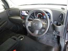 視界が広く視点が高いので、運転が楽になります。
