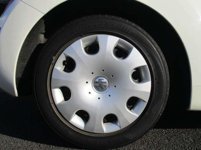 タイヤの溝、ブレーキパッドの残量、まだまだ走れます♪