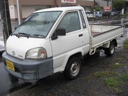 トヨタ ライトエーストラック 1.8 DX スーパーシングルジャストロー ロングスチールデッキ 三方開 1トン積