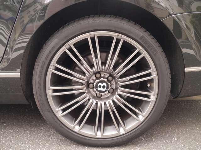 スーパースピード専用20インチアルミホイール タイヤサイズは275/35/20 タイヤ山7~8分あり