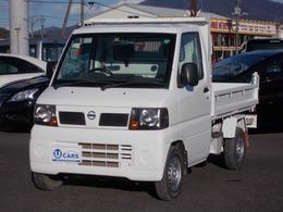 日産 クリッパートラック 4WDダンプ