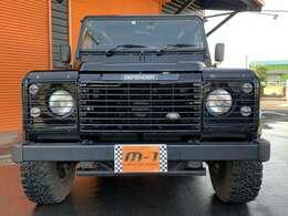 平成16年式(04y)ランドローバーディフェンダー110SE D-TB 4WD!Td5!正規ディーラー車!右ハンドル!NoxPM適合車!純正5速!16インチアルミ&背面付ハイグレードSE!