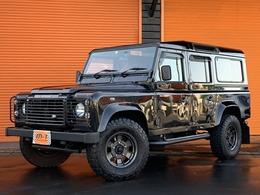 ランドローバー ディフェンダー 110SE ディーゼルターボ 4WD 正規D車右H110Td5D-tbNoxPM適合HDDナビTV